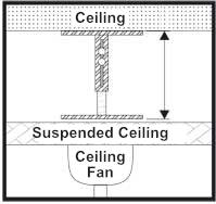 suspended ceiling mounting kit