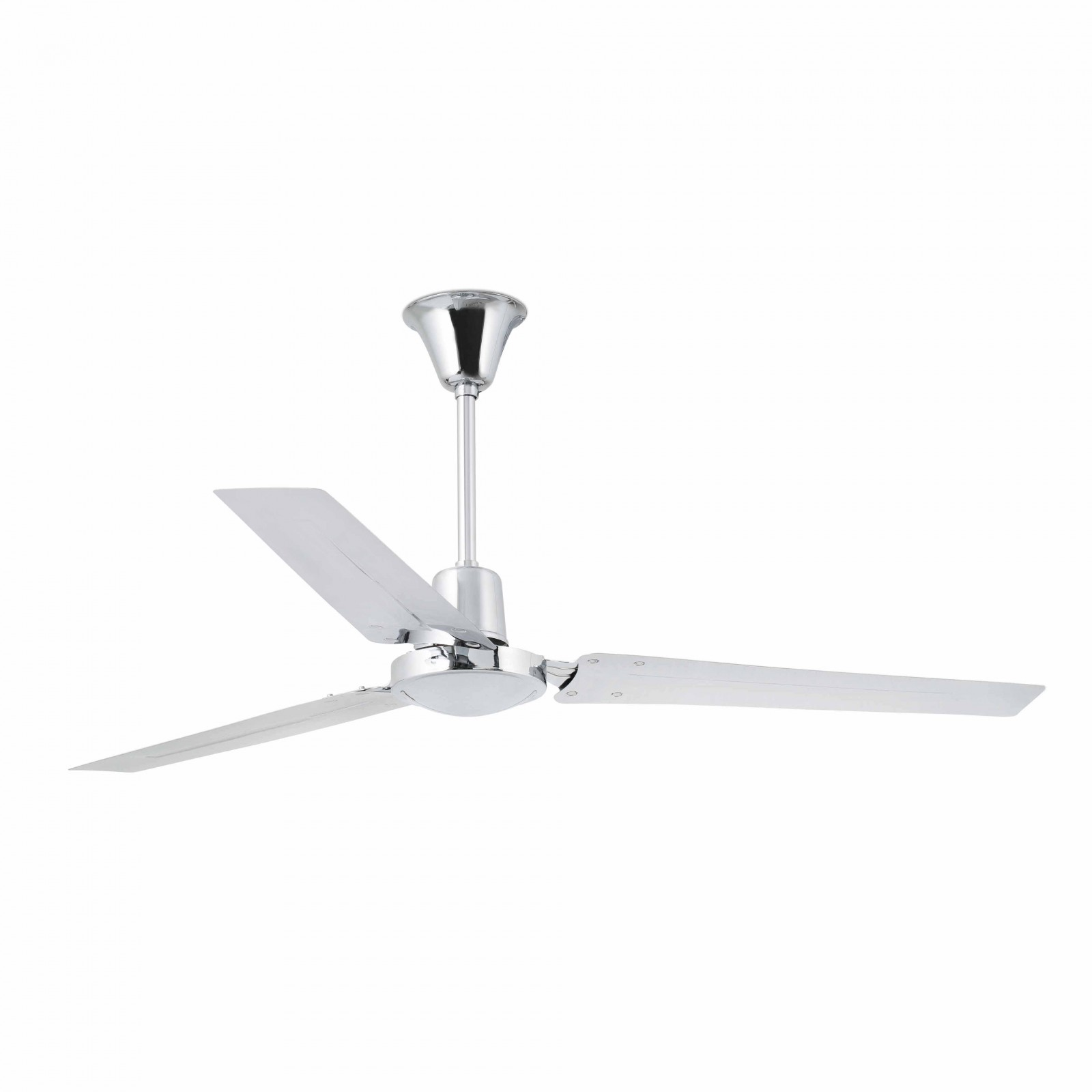"Faro ceiling fan Indus Chrome 140 cm / 55"" with wall control Ceiling ..."