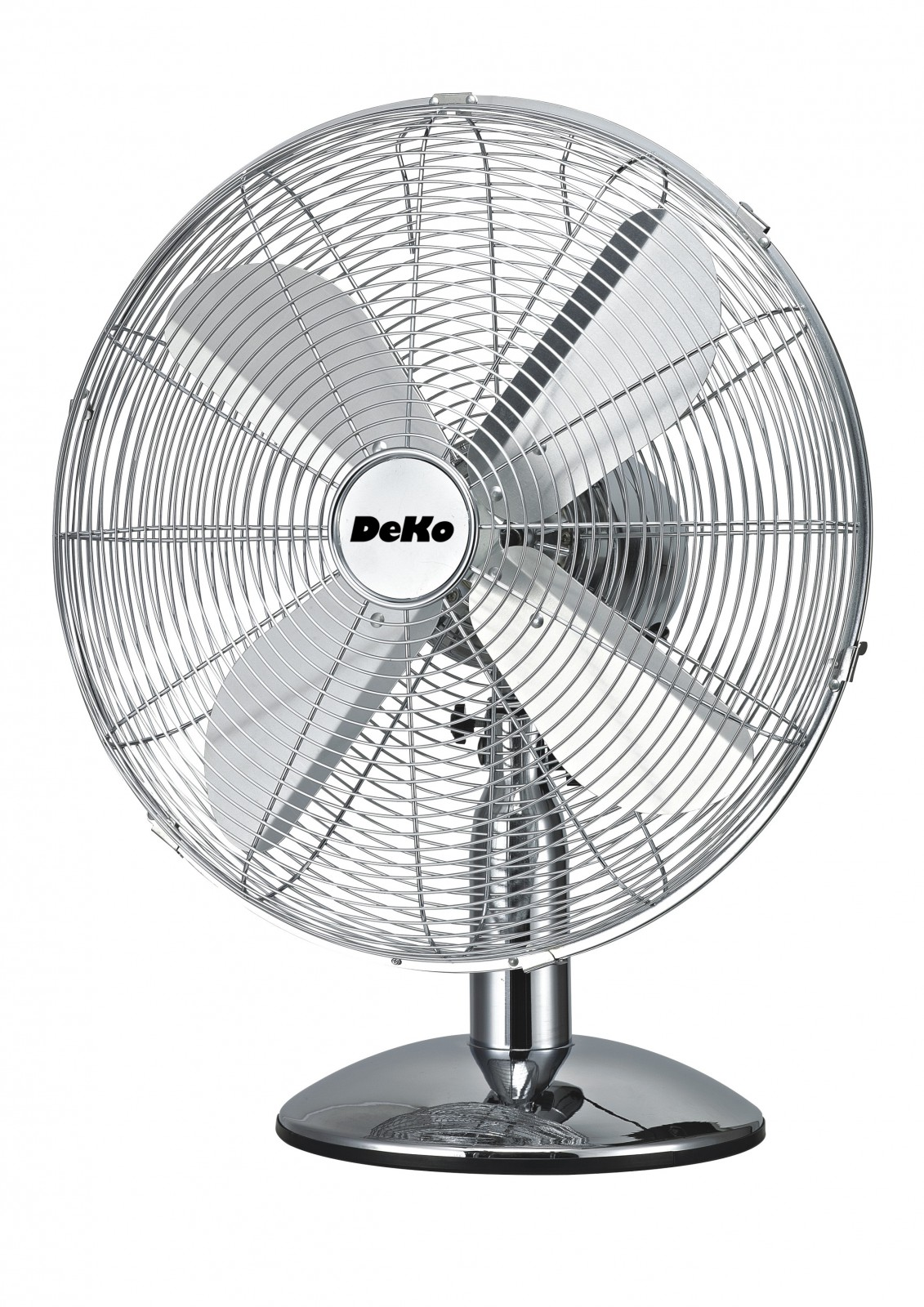 Desk fan stratos b 500 chrome by deko portable fans of for Deko chrom