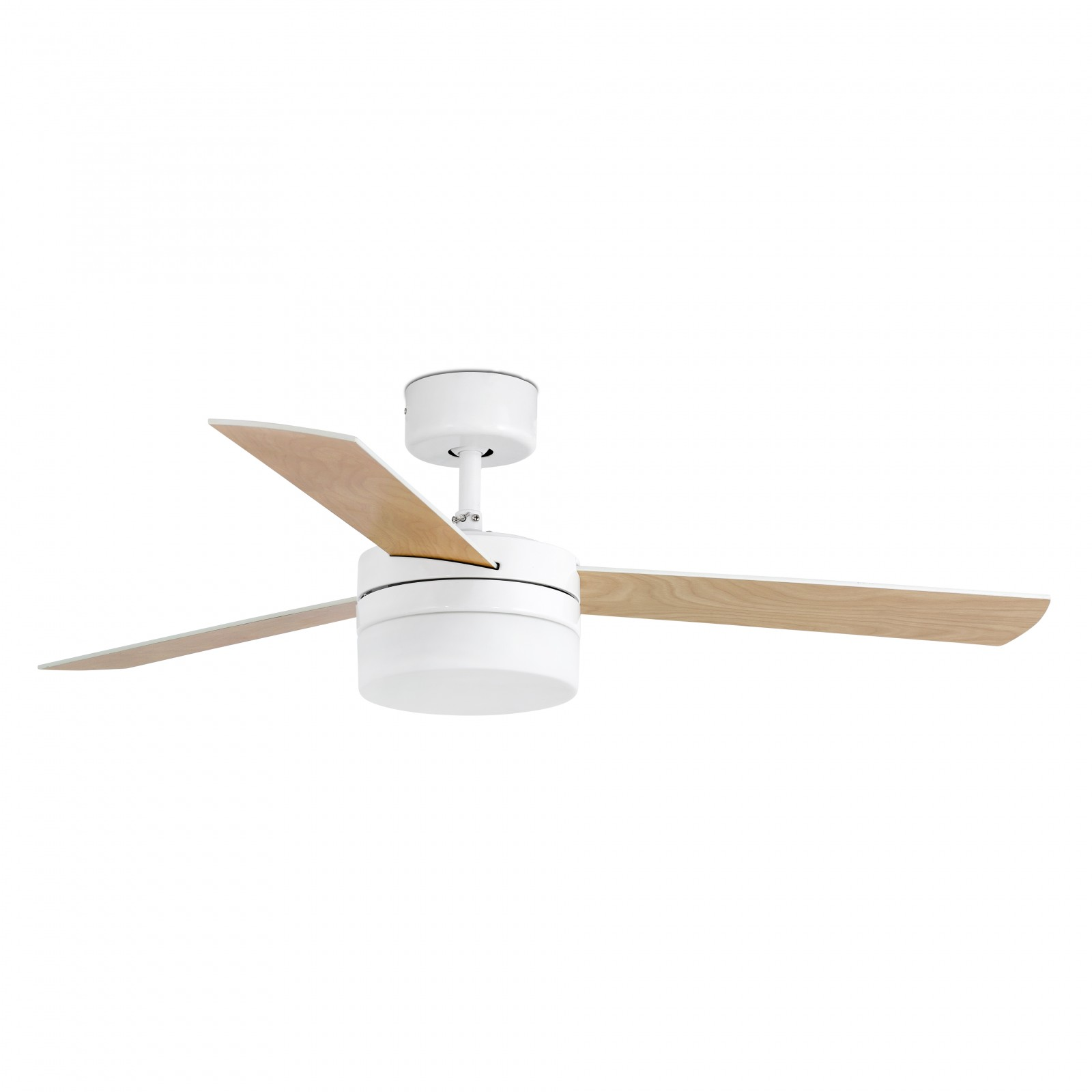 Faro Ceiling Fan Panay White 122 Cm 48 With Lighting