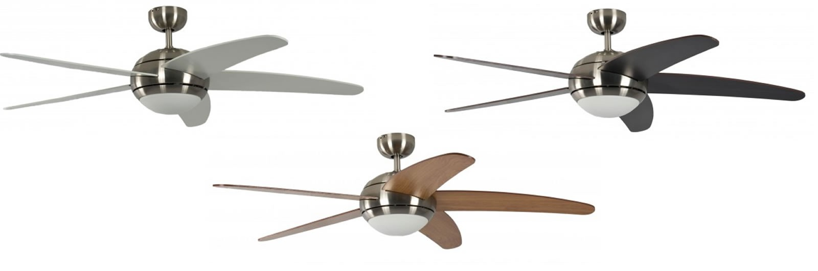 Ceiling fan melton nickel finish with included remote control ceiling